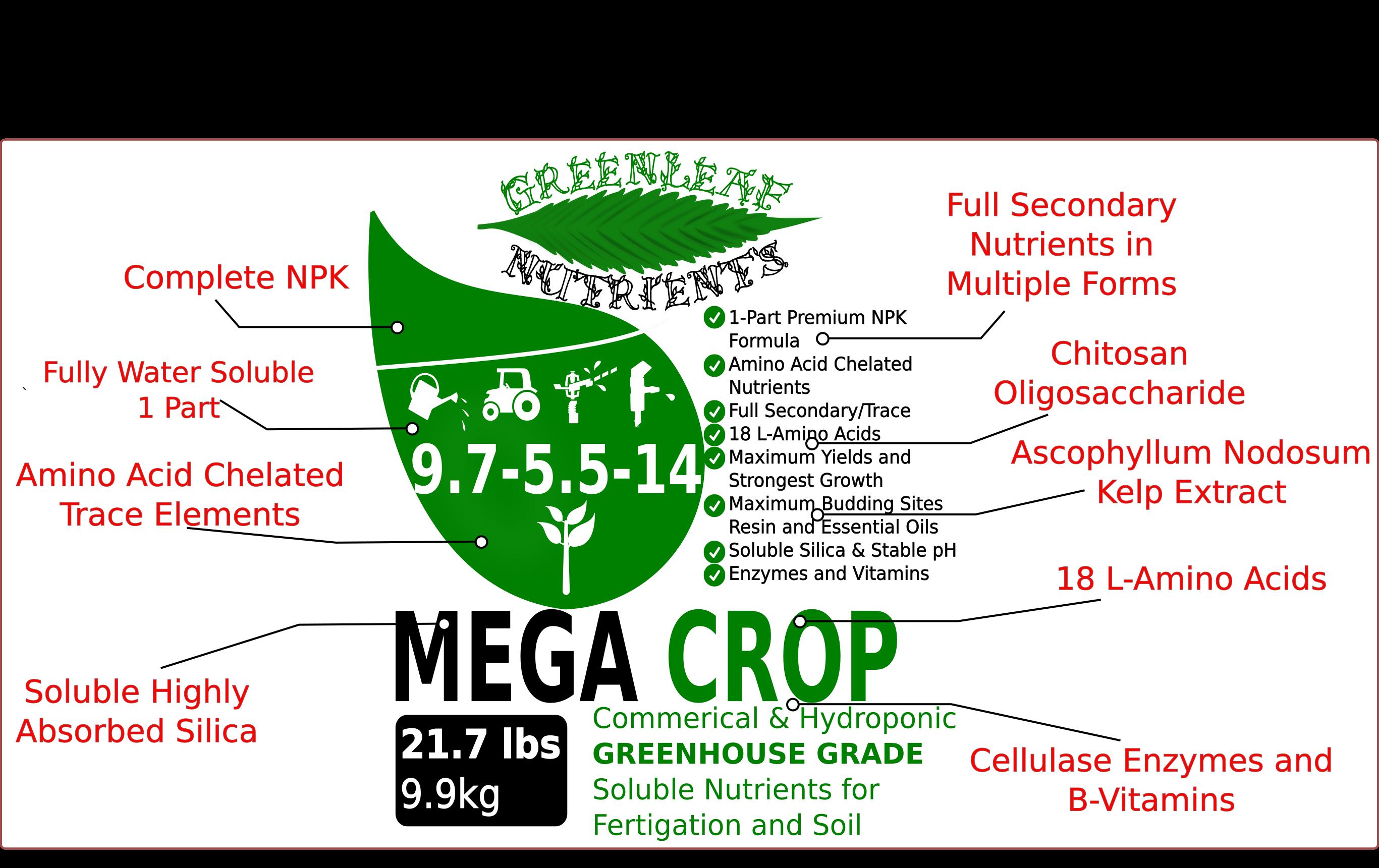 MEGA CROP – Greenleaf Nutrients